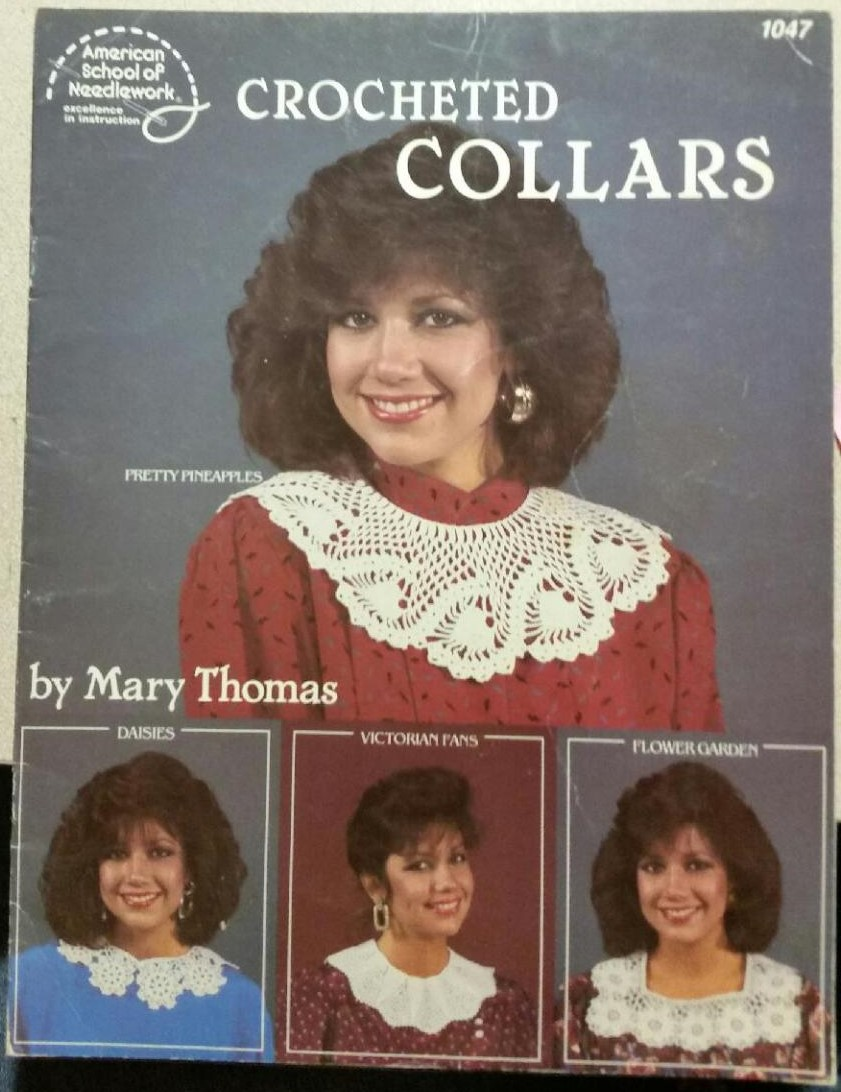 Crocheted Collars By Mary Thomas