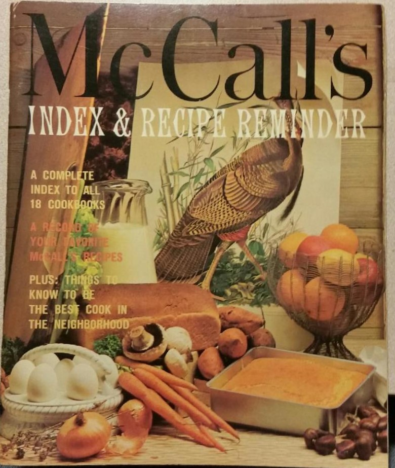 McCall's Index & Recipe Reminder